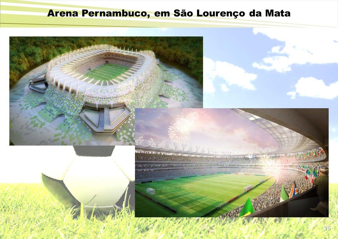 Arena Pernambuco, em São Lourenço da Mata