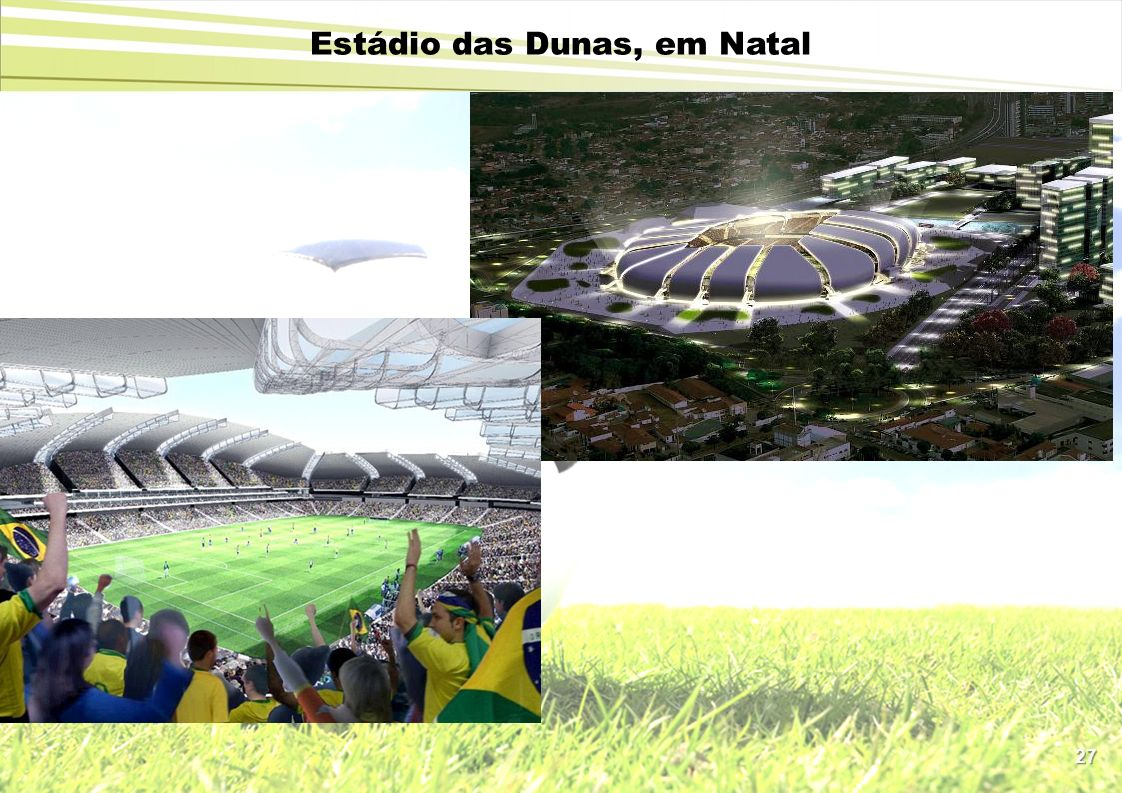 Estádio das Dunas, em Natal