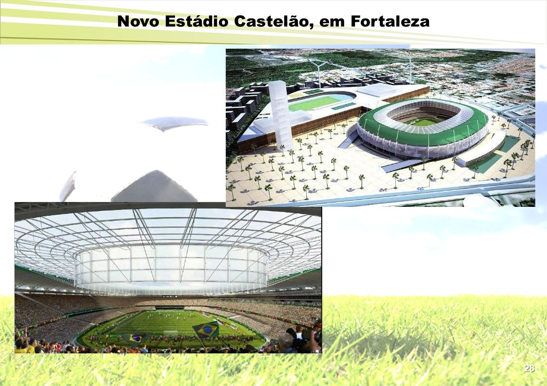 Novo Estádio Castelão, em Fortaleza