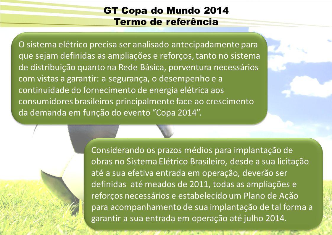 GT Copa do Mundo 2014 Termo de referência