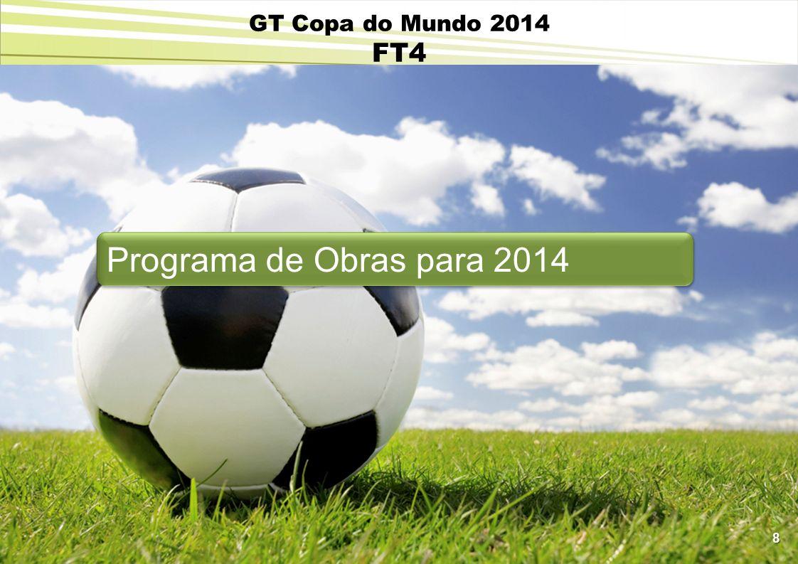 GT Copa do Mundo 2014 FT4 Programa de Obras para 2014 8