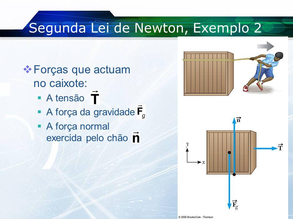 Segunda Lei de Newton, Exemplo 2