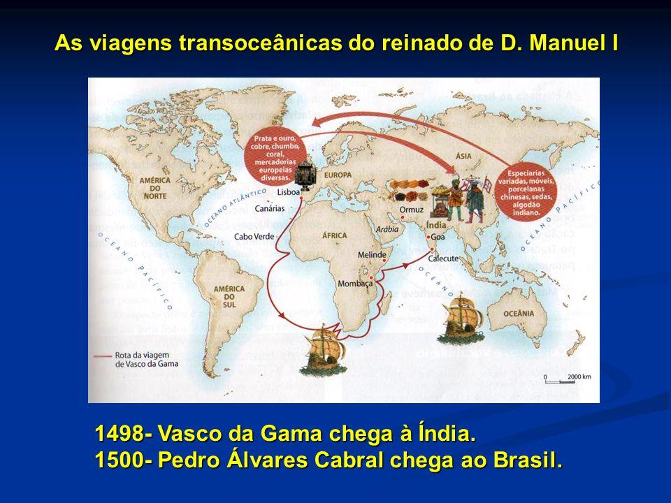 As viagens transoceânicas do reinado de D. Manuel I