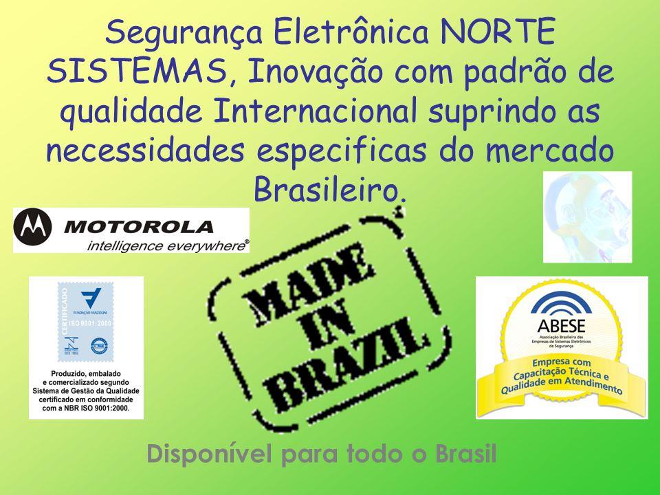 Disponível para todo o Brasil