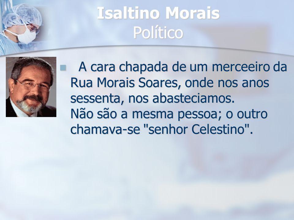 Isaltino Morais Político