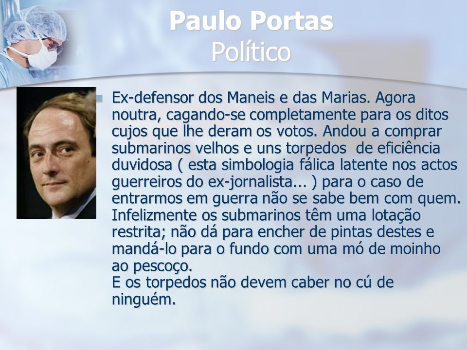 Paulo Portas Político