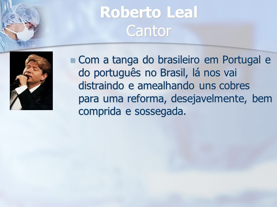 Roberto Leal Cantor