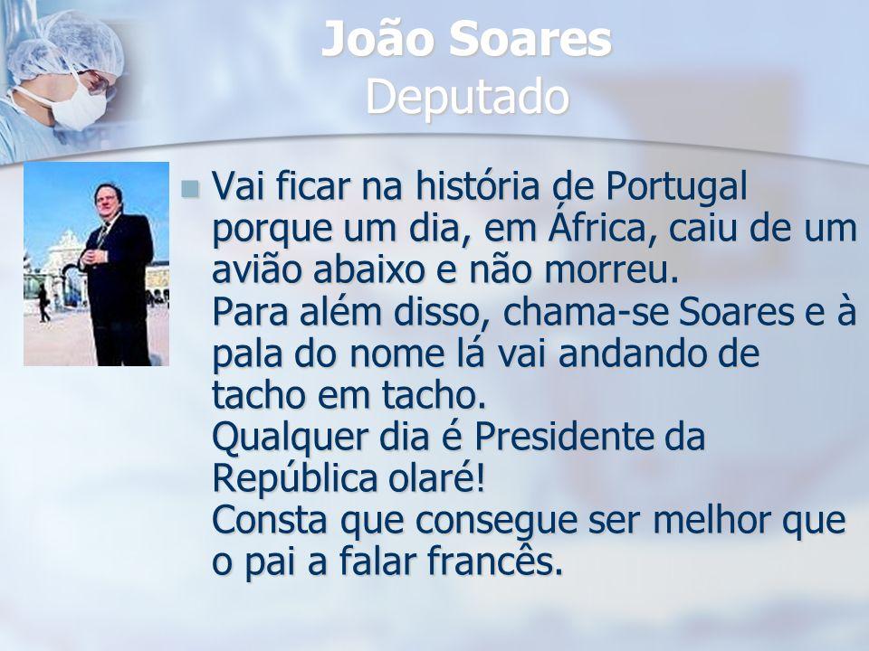 João Soares Deputado