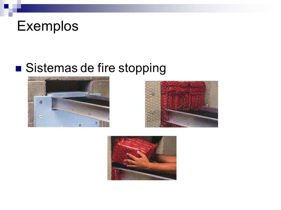 Exemplos Sistemas de fire stopping