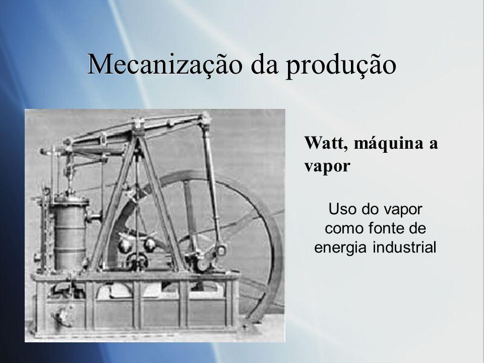 Mecanização da produção