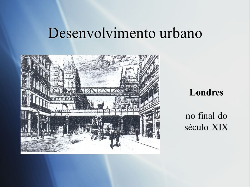 Desenvolvimento urbano