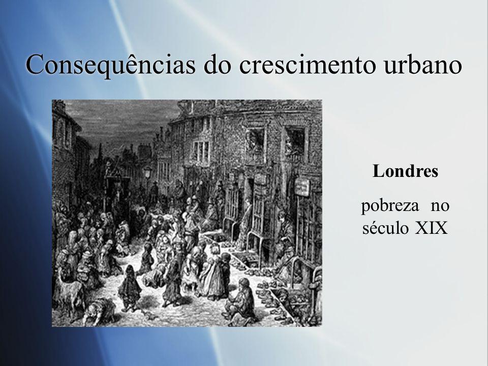 Consequências do crescimento urbano