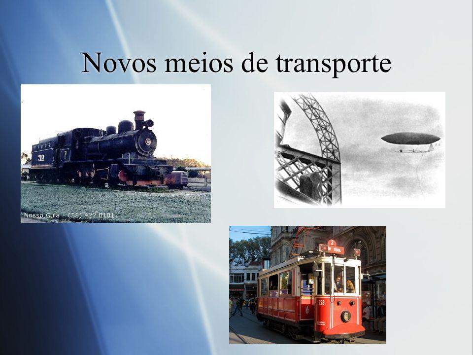 Novos meios de transporte