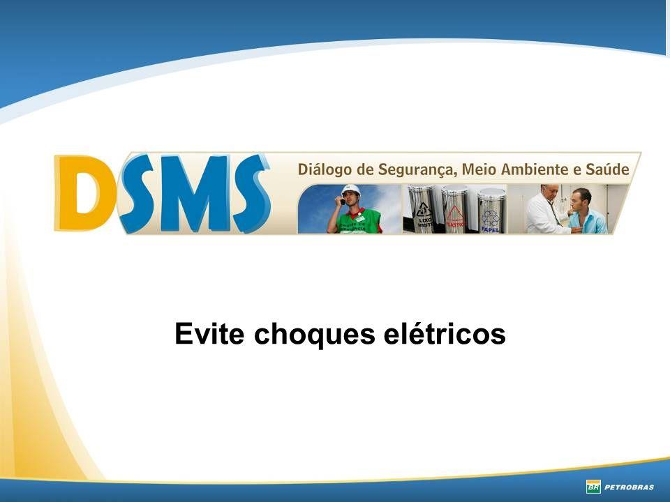 Evite choques elétricos