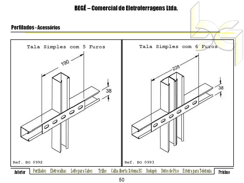 BEGÊ – Comercial de Eletroferragens Ltda.
