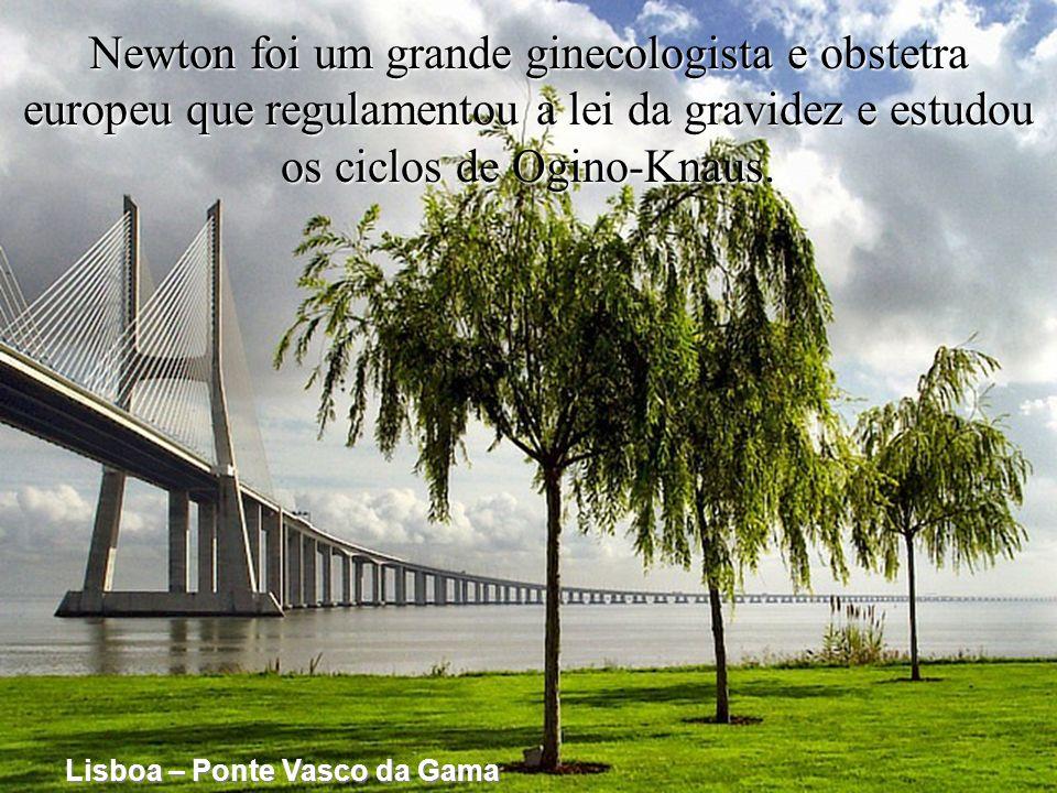 Newton foi um grande ginecologista e obstetra europeu que regulamentou a lei da gravidez e estudou os ciclos de Ogino-Knaus.