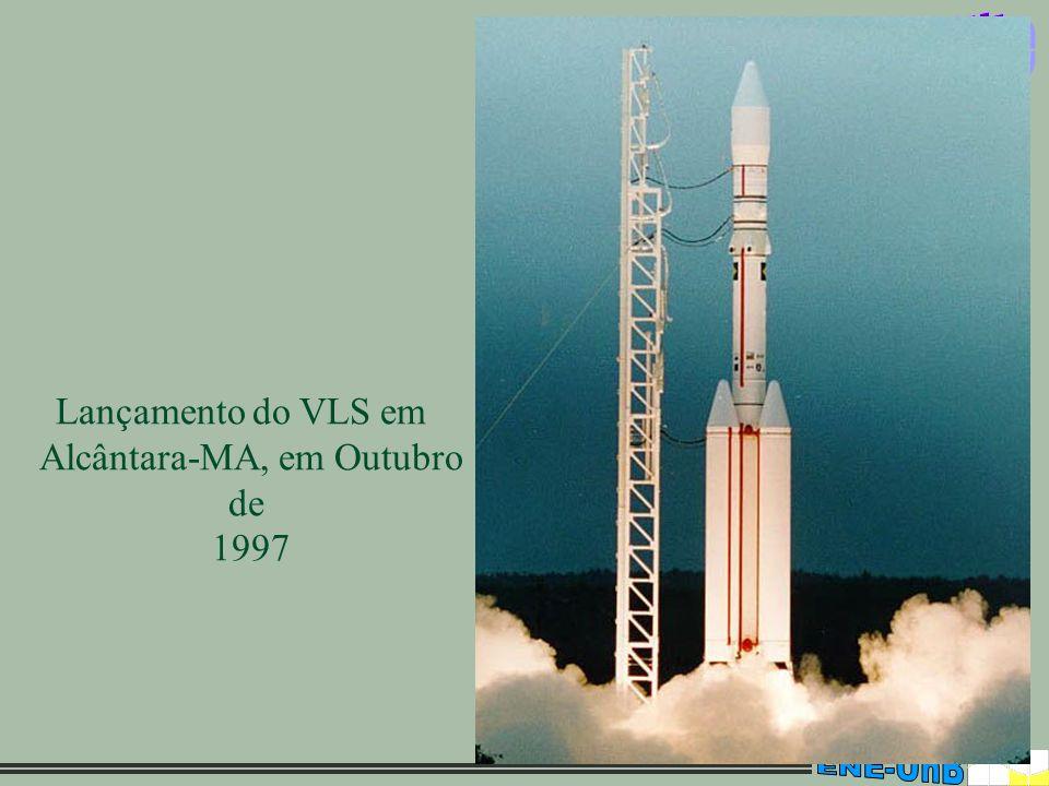 Lançamento do VLS em Alcântara-MA, em Outubro de 1997