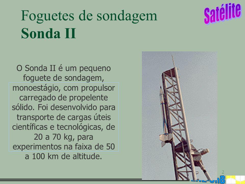 Foguetes de sondagem Sonda II