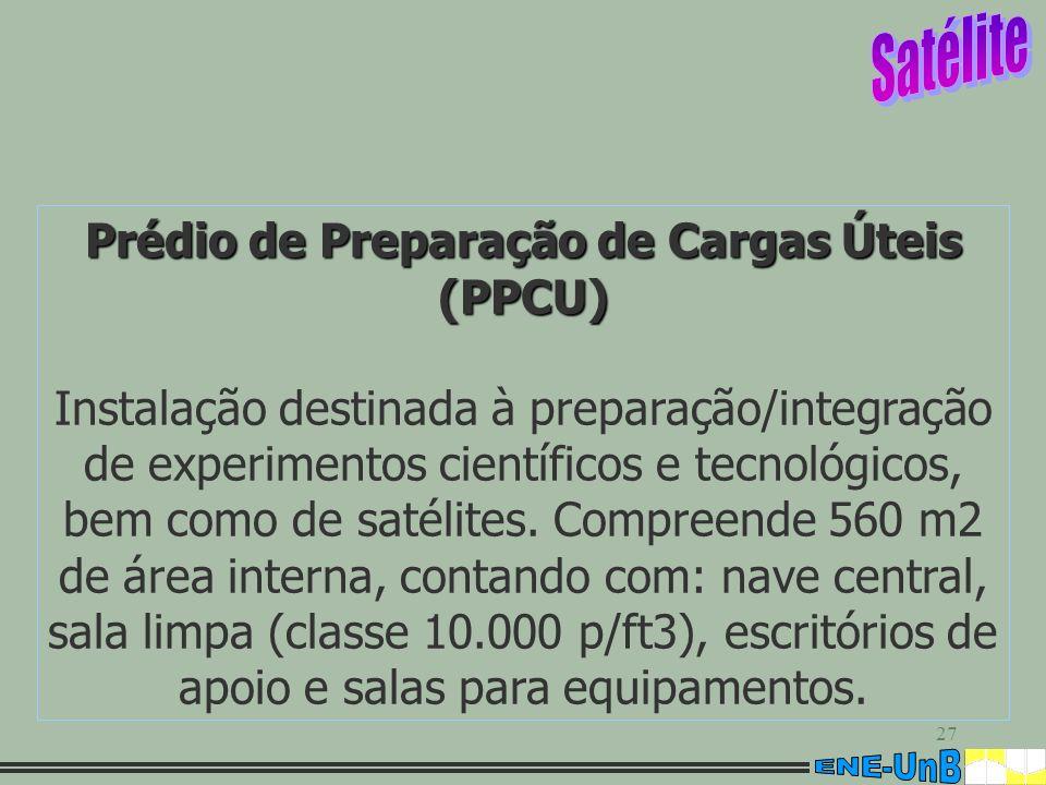 Prédio de Preparação de Cargas Úteis (PPCU)