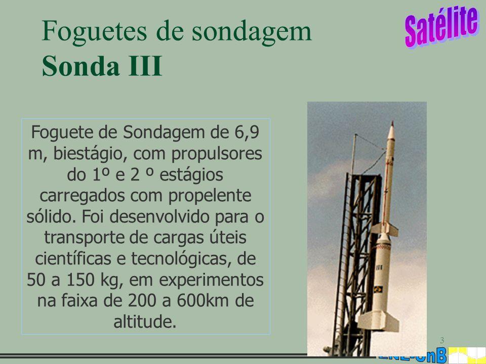 Foguetes de sondagem Sonda III