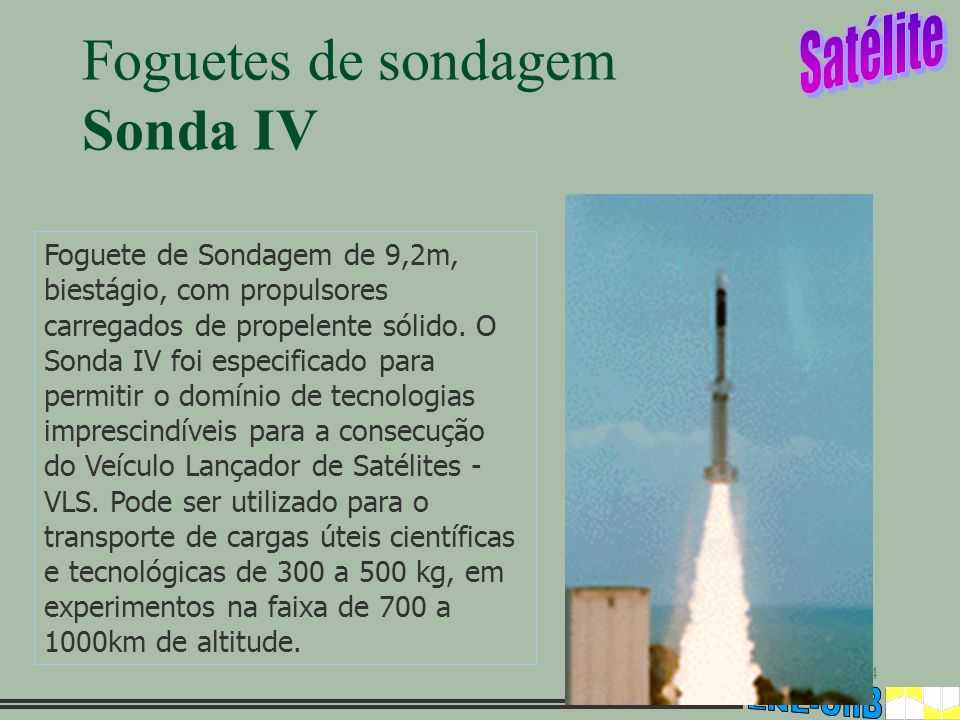 Foguetes de sondagem Sonda IV
