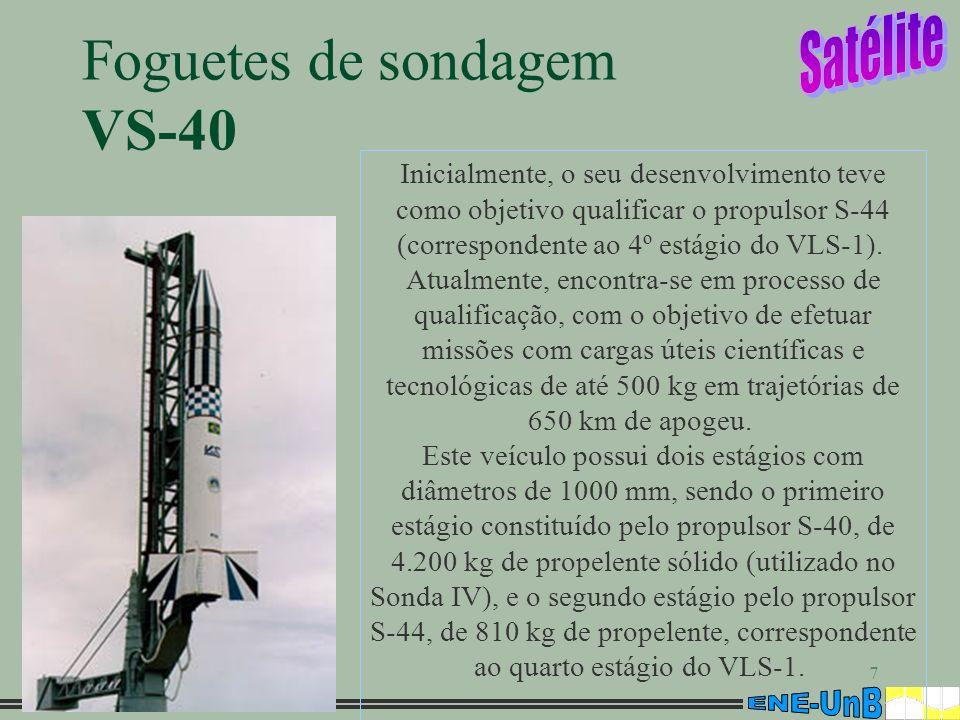 Foguetes de sondagem VS-40