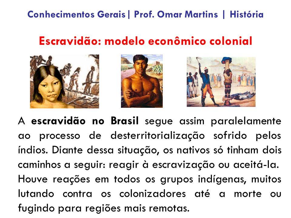 Escravidão: modelo econômico colonial