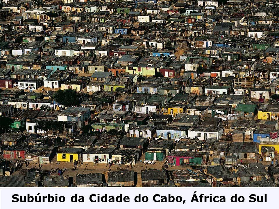 Subúrbio da Cidade do Cabo, África do Sul