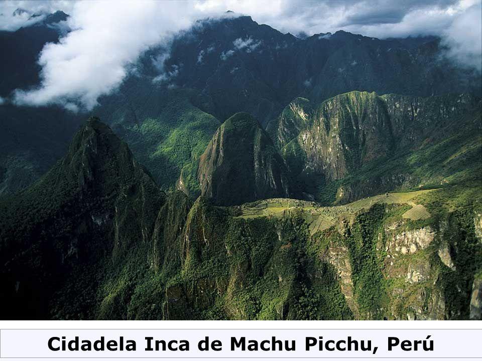 Cidadela Inca de Machu Picchu, Perú