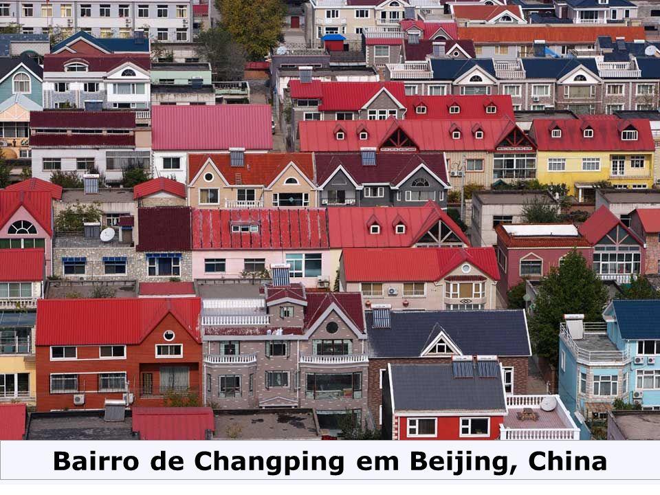 Bairro de Changping em Beijing, China