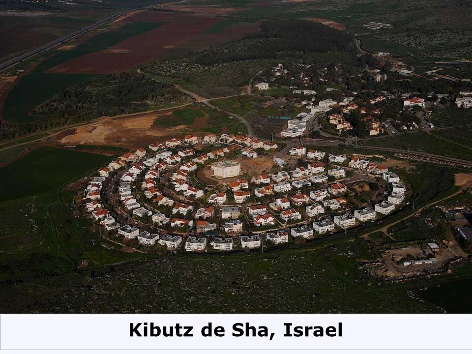 Kibutz de Sha, Israel