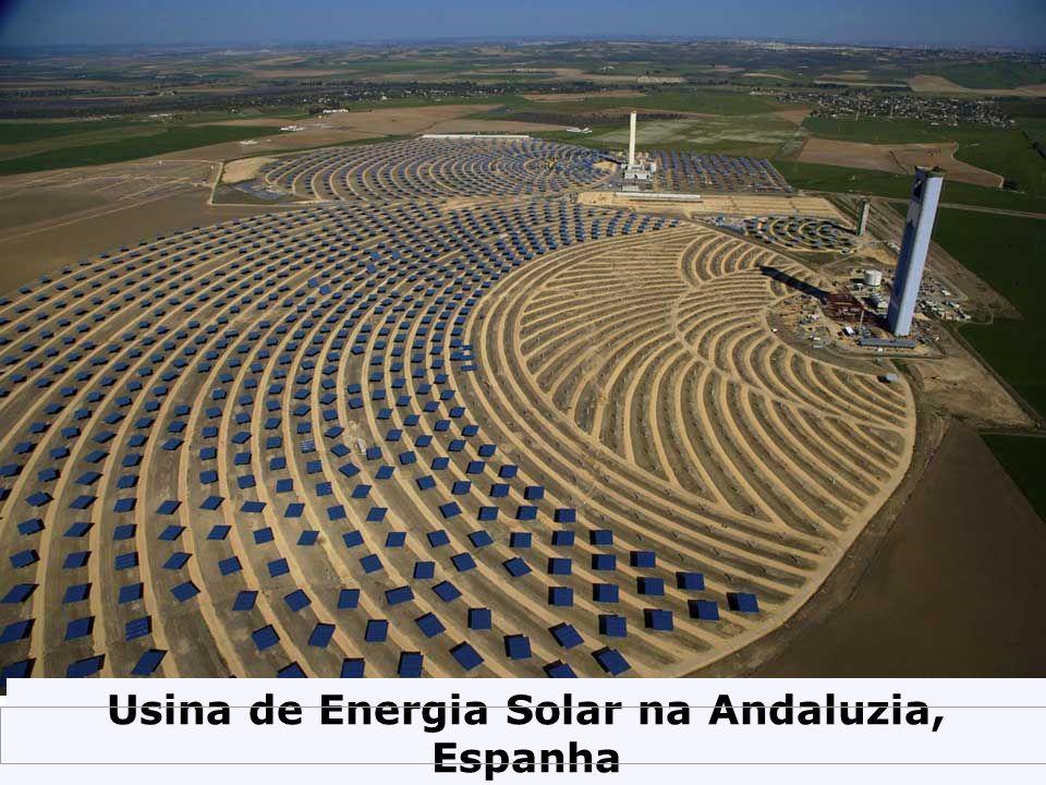 Usina de Energia Solar na Andaluzia, Espanha