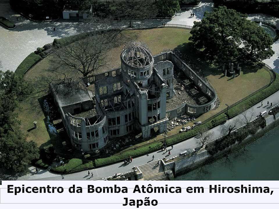Epicentro da Bomba Atômica em Hiroshima, Japão