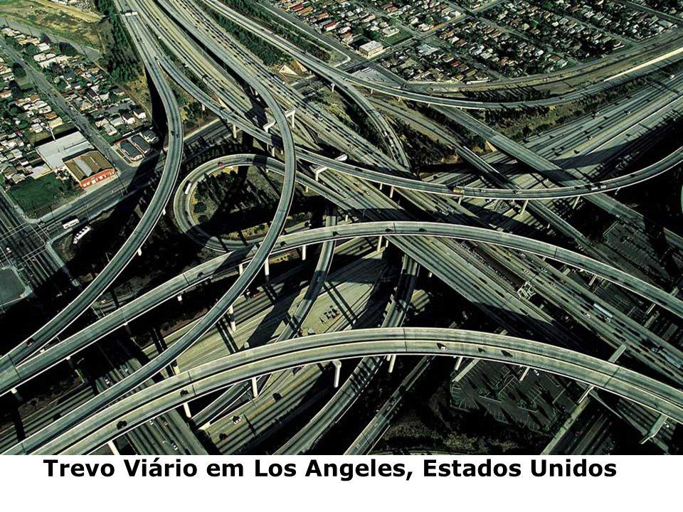 Trevo Viário em Los Angeles, Estados Unidos