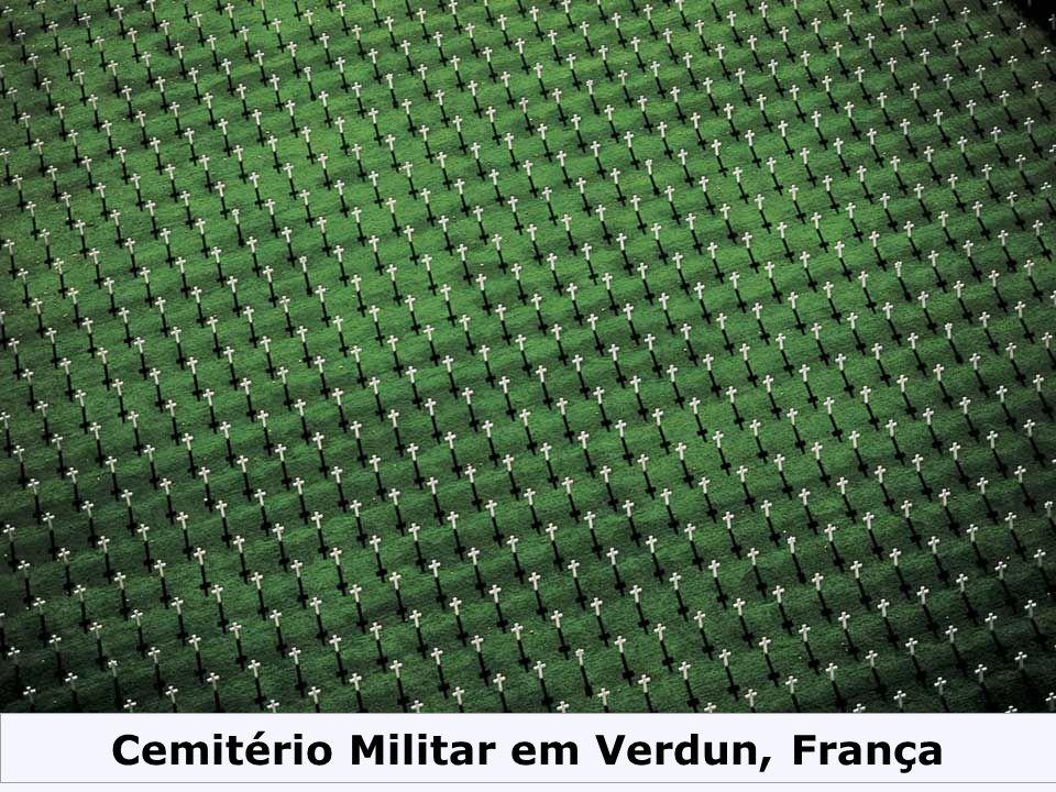 Cemitério Militar em Verdun, França