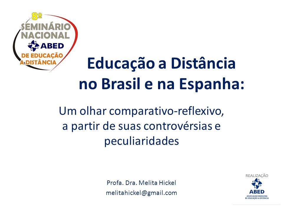 Educação a Distância no Brasil e na Espanha: