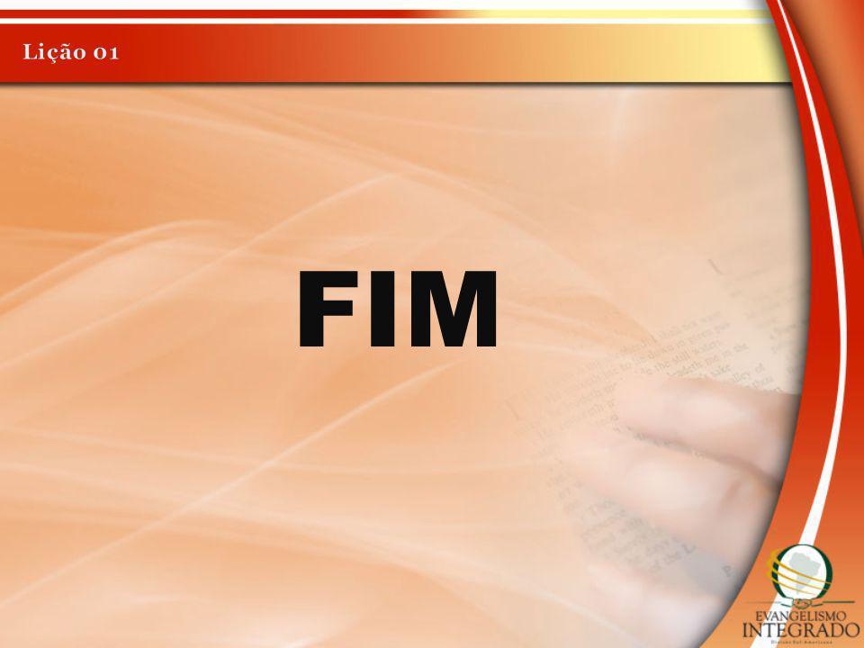 Lição 01 FIM