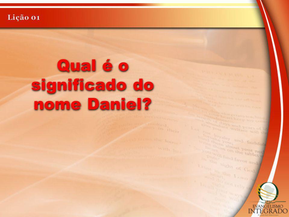 Qual é o significado do nome Daniel