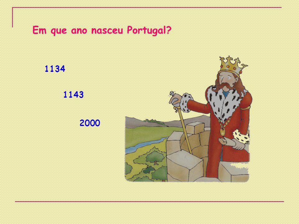 Em que ano nasceu Portugal