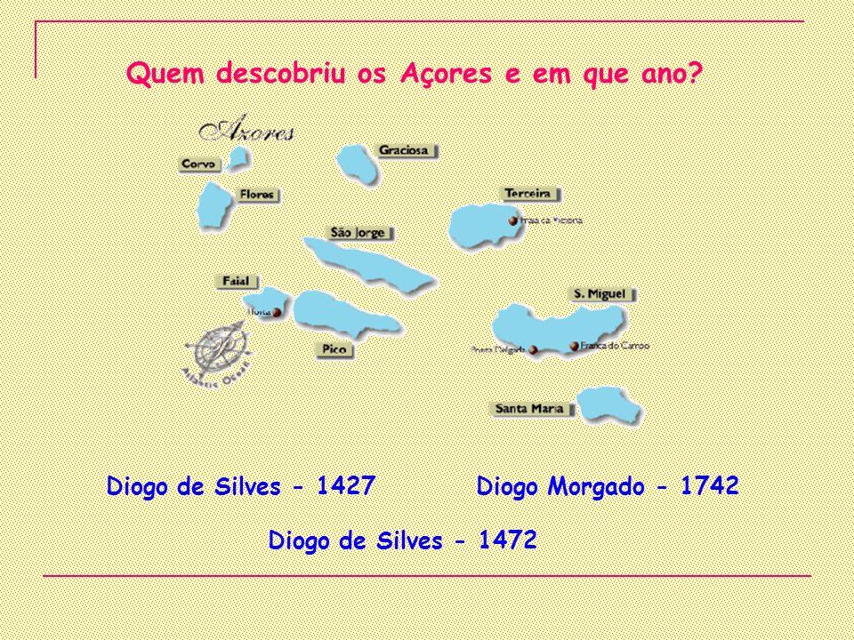 Quem descobriu os Açores e em que ano