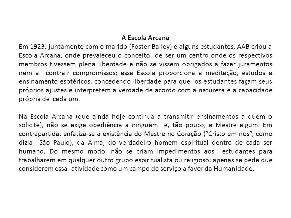 A Escola Arcana