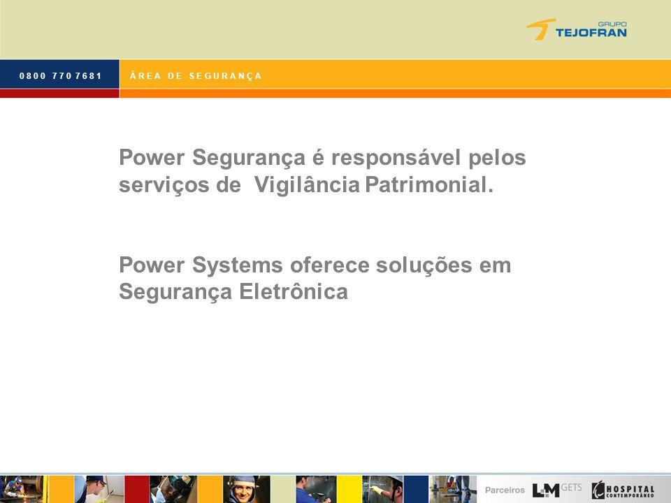 Power Systems oferece soluções em Segurança Eletrônica