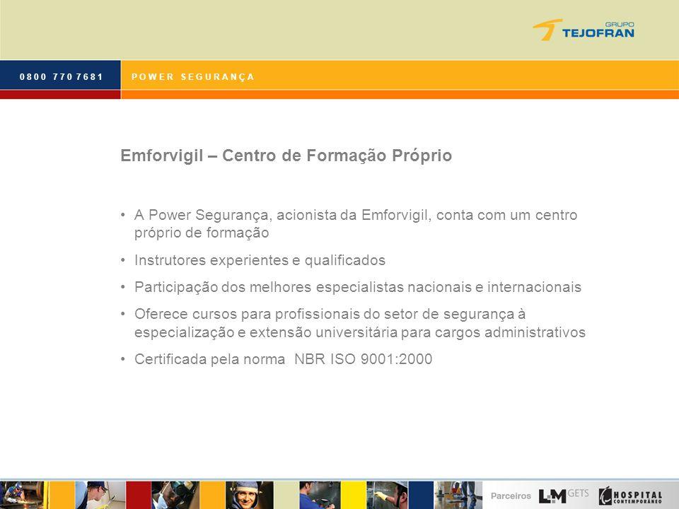 Emforvigil – Centro de Formação Próprio
