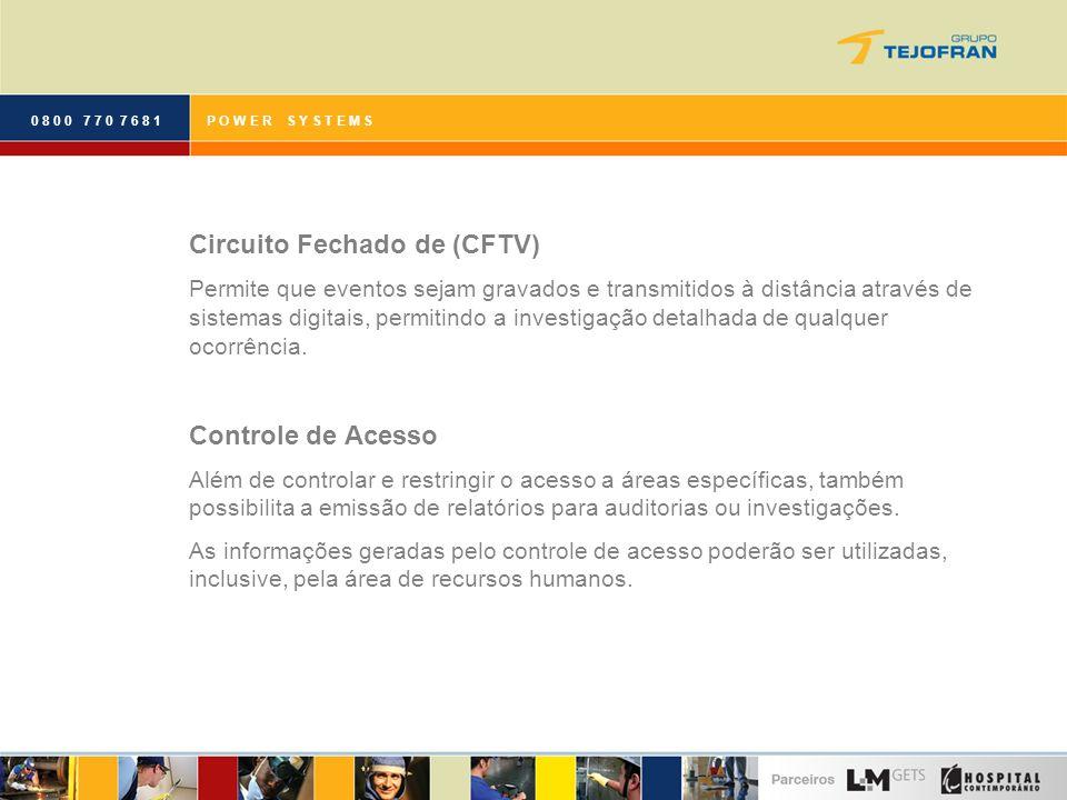 Circuito Fechado de (CFTV)