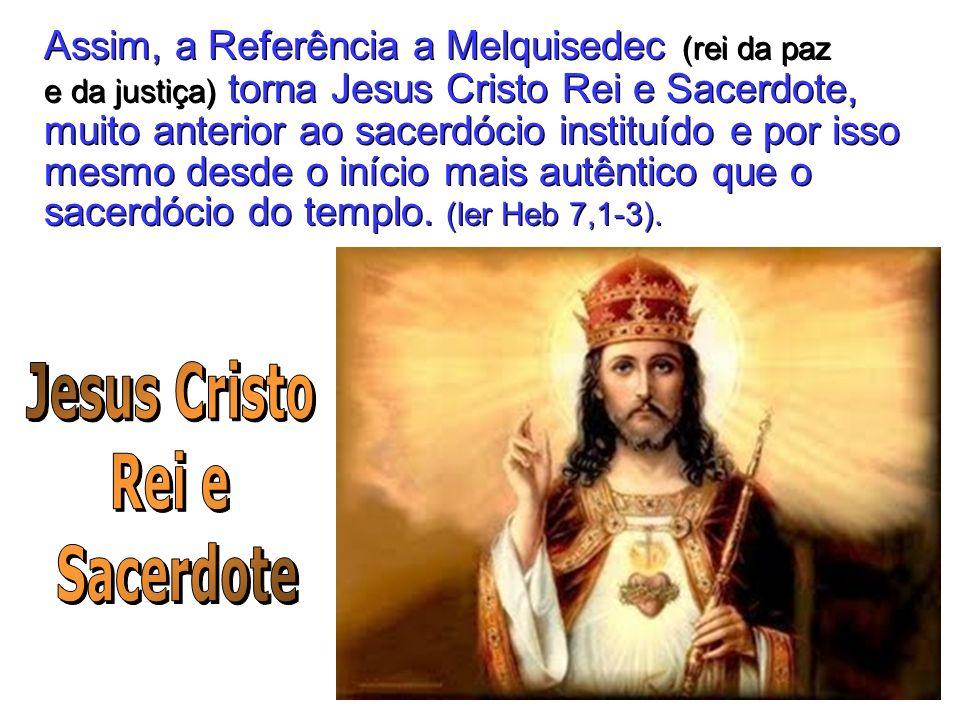 Jesus Cristo Rei e Sacerdote