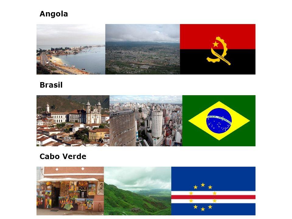 Angola Brasil Cabo Verde