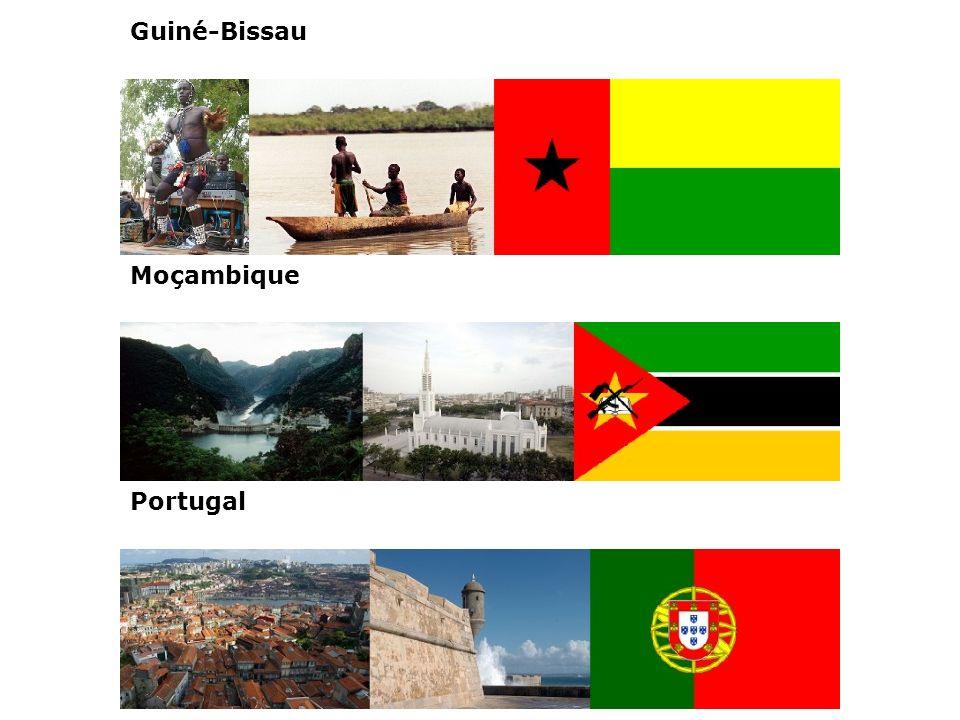 Guiné-Bissau Moçambique Portugal