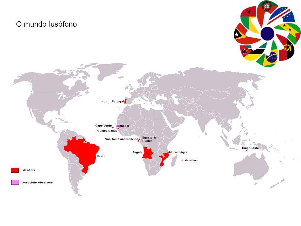 O mundo lusófono