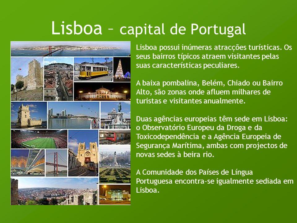 Lisboa – capital de Portugal