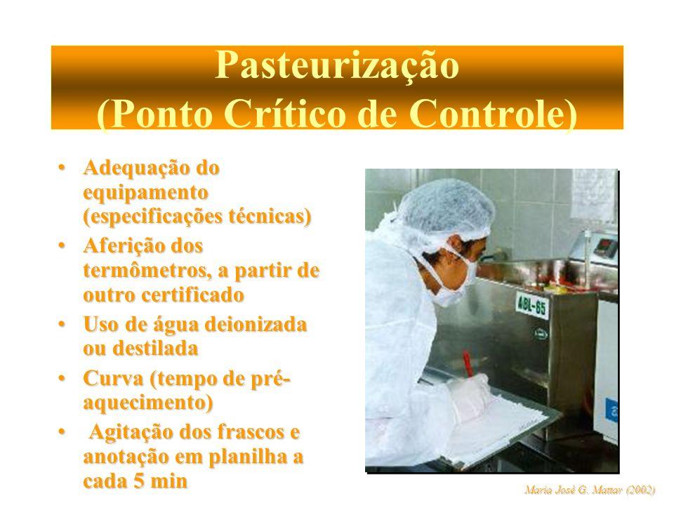 Pasteurização (Ponto Crítico de Controle)